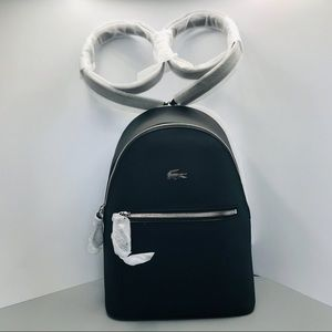Lacoste Backpack black brand new with tags